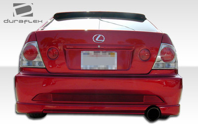 Lexus IS 4DR C-1 Duraflex Rear Body Kit Bumper 2000-2005
