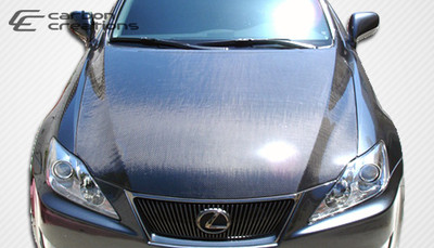 Lexus IS 4DR OEM Carbon Fiber Creations Body Kit- Hood 2006-2013