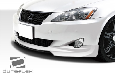 Lexus IS W-1 Duraflex Front Bumper Lip Body Kit 2009-2010