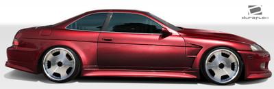 Lexus SC V-Speed Duraflex Side Skirts for Wide Body Kit 1992-2000