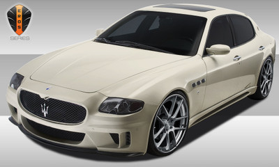 Maserati Quattroporte Eros Version 1 Duraflex Full 4 Pcs Body Kit 2005-2007