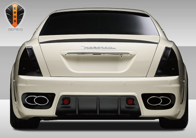 Maserati Quattroporte Eros Version 1 Duraflex Rear Body Kit Bumper 2005-2007