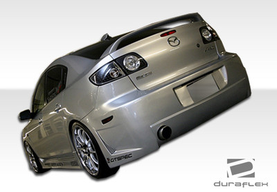 Mazda 3 4DR B-2 Duraflex Rear Body Kit Bumper 2004-2009