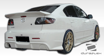 Mazda 3 4DR I-Spec Duraflex Rear Body Kit Bumper 2004-2009
