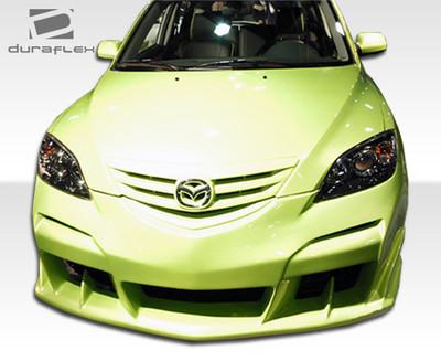 Mazda 3 HB Raven Duraflex Front Body Kit Bumper 2004-2009