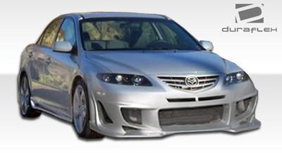 Mazda 6 Bomber Duraflex Front Body Kit Bumper 2003-2008