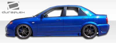 Mazda Protege B-2 Duraflex Side Skirts Body Kit 1999-2003