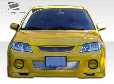 Mazda Protege Speedzone Duraflex Front Bumper Lip Body Kit 2001-2003