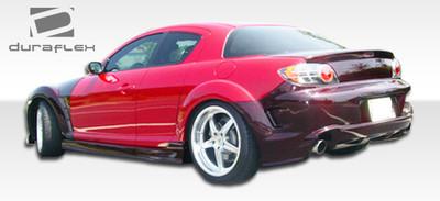 Mazda RX-8 GT Competition Duraflex Rear Body Kit Bumper 2004-2011