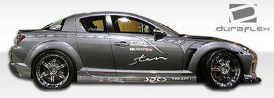 Mazda RX-8 M-1 Duraflex Side Skirts Body Kit 2004-2011