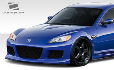 Mazda RX-8 M-1 Speed Duraflex Front Body Kit Bumper 2009-2011