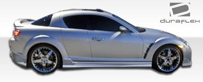 Mazda RX-8 Raven Duraflex Side Skirts Body Kit 2004-2011