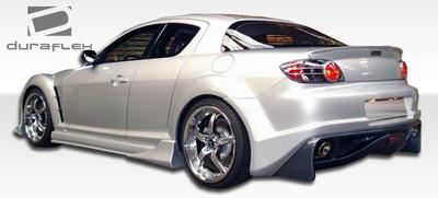 Mazda RX-8 Vader Duraflex Rear Body Kit Bumper 2004-2011