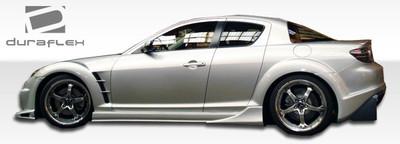 Mazda RX-8 Vader Duraflex Side Skirts Body Kit 2004-2011