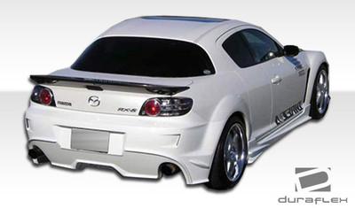 Mazda RX-8 Velocity Duraflex Rear Body Kit Bumper 2004-2011