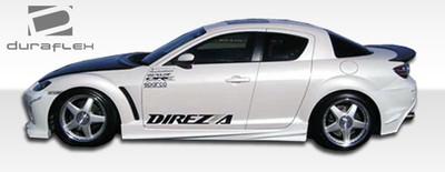 Mazda RX-8 Velocity Duraflex Side Skirts Body Kit 2004-2011