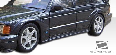 Mercedes 190 Evo 2 Duraflex Wide Fender Flares 1984-1993