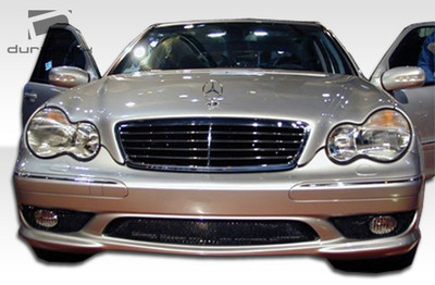 Mercedes C Class 4DR AMG Look Duraflex Front Body Kit Bumper 2001-2007