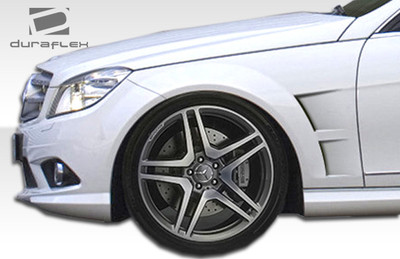 Mercedes C Class 4DR Morello Edition Duraflex Body Kit- Fenders 2008-2014