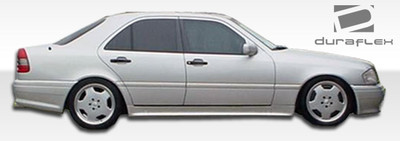Mercedes C Class AMG Look Duraflex Side Skirts Body Kit 1994-2000