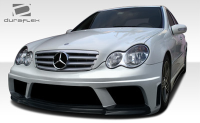 Mercedes C Class AMG V2 Look Duraflex Full Body Kit 2001-2007