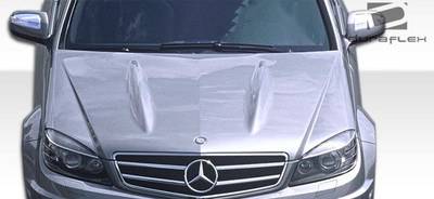 Mercedes C Class C63 Look Duraflex Body Kit- Hood 2008-2011