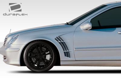Mercedes C Class W-1 Duraflex Body Kit- Fenders 2001-2007