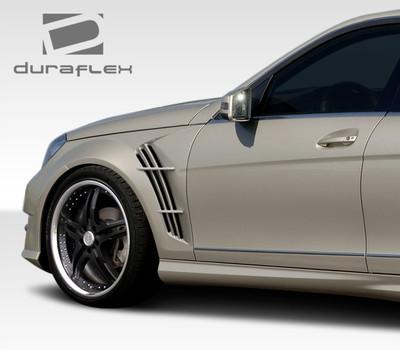 Mercedes C Class W-1 Duraflex Body Kit- Fenders 2008-2014