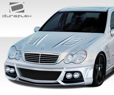 Mercedes C Class W-1 Duraflex Body Kit- Hood 2001-2007
