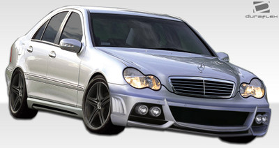 Mercedes C Class W-1 Duraflex Full 4 Pcs Body Kit 2001-2007