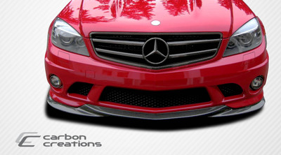 Mercedes C63 L-Sport Duraflex Front Bumper Lip Body Kit 2008-2011