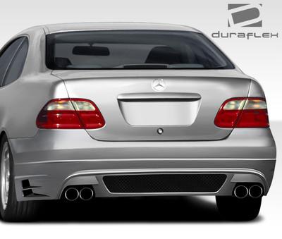 Mercedes CLK 2DR BR-T Duraflex Rear Body Kit Bumper 1998-2002