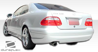 Mercedes CLK AMG Look Duraflex Rear Body Kit Bumper 1998-2002