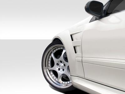 Mercedes CLK Black Series Duraflex Body Kit- Wide Fenders 2003-2009