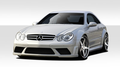 Mercedes CLK Black Series Look Duraflex Full 9 Pcs Wide Body Kit 2003-2009