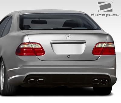 Mercedes CLK C63 Look Duraflex Rear Body Kit Bumper 1998-2002