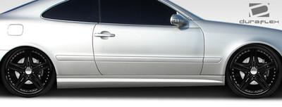 Mercedes CLK C63 Look Duraflex Side Skirts Body Kit 1998-2002