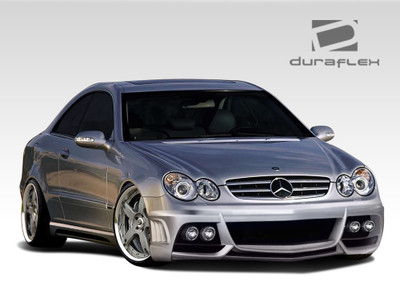 Mercedes CLK W-1 Duraflex Full 4 Pcs Body Kit 2003-2009