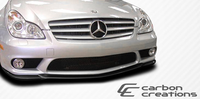 Mercedes CLS CR-S Carbon Fiber Creations Front Bumper Lip Body Kit 2006-2011