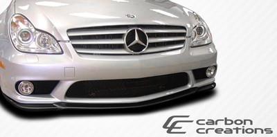Mercedes CLS CR-S Carbon Fiber Creations Front Bumper Lip Body Kit 2006-2011