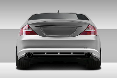 Mercedes CLS Eros Version 1 Duraflex Rear Body Kit Bumper 2006-2008