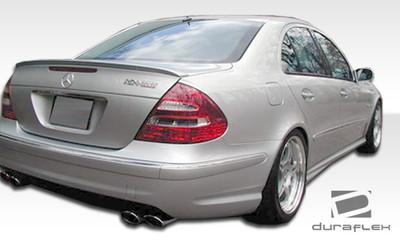 Mercedes E Class 4DR AMG Look Duraflex Rear Body Kit Bumper 2003-2009