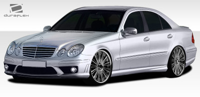 Mercedes E Class 4DR E63 Look Duraflex Full Body Kit 2007-2009
