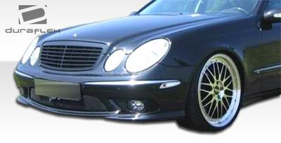 Mercedes E Class AMG Look Duraflex Front Body Kit Bumper 2003-2006