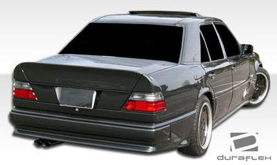 Mercedes E Class AMG Look Duraflex Rear Body Kit Bumper 1986-1995