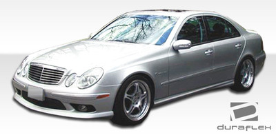 Mercedes E Class AMG Look Duraflex Side Skirts Body Kit 2003-2009