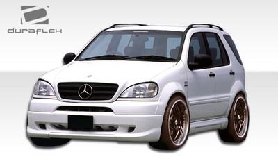 Mercedes ML W-1 Duraflex Front Bumper Lip Body Kit 1998-2001