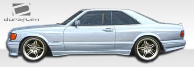 Mercedes S Class 2DR AMG Look Duraflex Body Kit- Wide Fenders 1981-1991