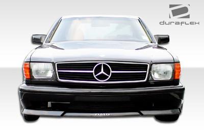 Mercedes S Class 4DR AMG Look Duraflex Front Body Kit Bumper 1981-1991
