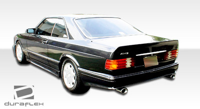 Mercedes S Class 4DR AMG Look Duraflex Rear Body Kit Bumper 1981-1991